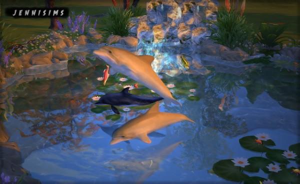 Jenni Sims: Decorative Dolphins Faby&Jenni