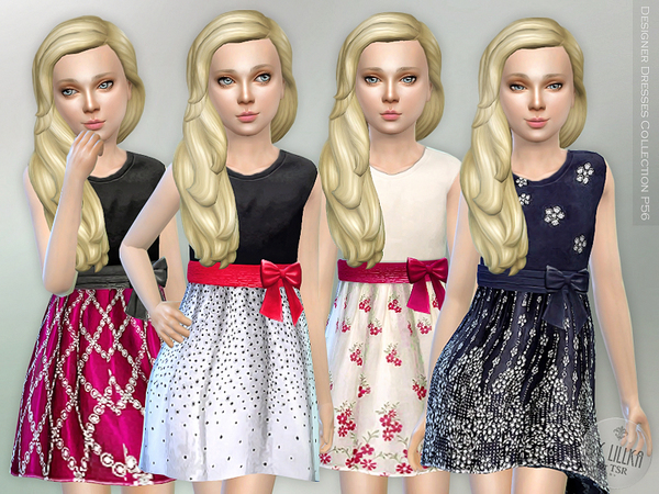 The Sims Resource: Designer Dresses Collection P56 by lillka
