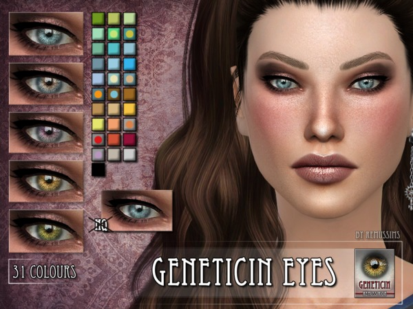 The Sims Resource: Geneticin Eyes by Remus Sirion