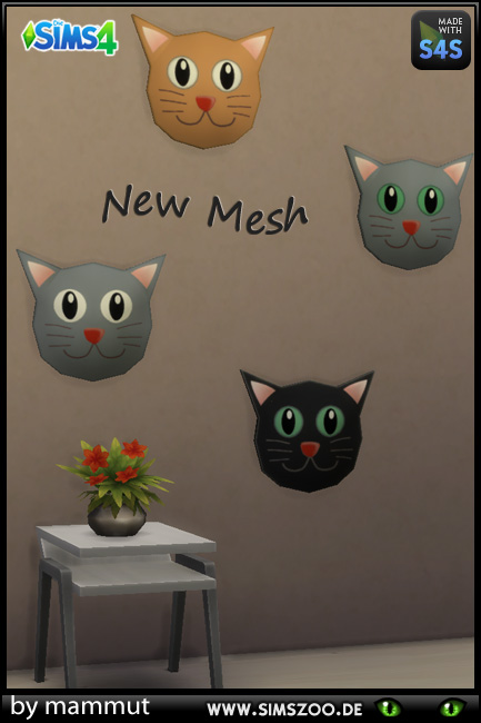 Blackys Sims 4 Zoo: Cats paintings by mammut