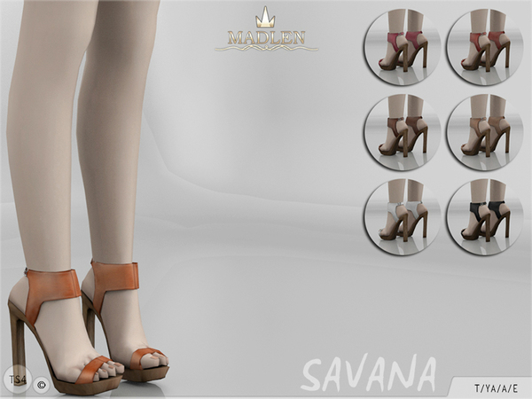 The Sims Resource: Madlen Savana Shoes by MJ95