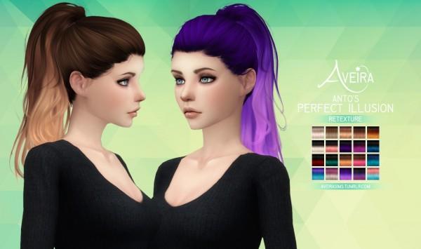 Aveira Sims 4: Anto's Perfect Illusion   Retexture