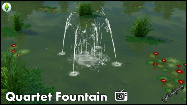 Mod The Sims: Quartet Fountain (New) by Bakie