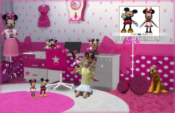 Jenni Sims: Mickey & Minnie Toys Faby