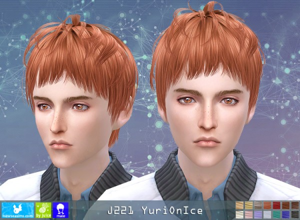 NewSea: Y221 Yuri On Ice donation hairstyle