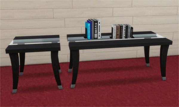 Veranka: Giddy Up Dining Tables Add ons and Extracted Books