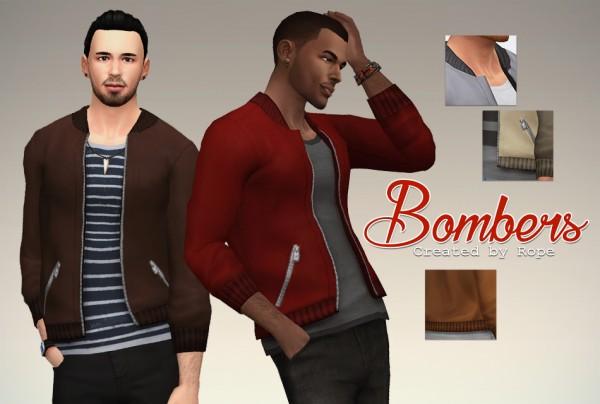 Simsontherope: Bombers Jacket