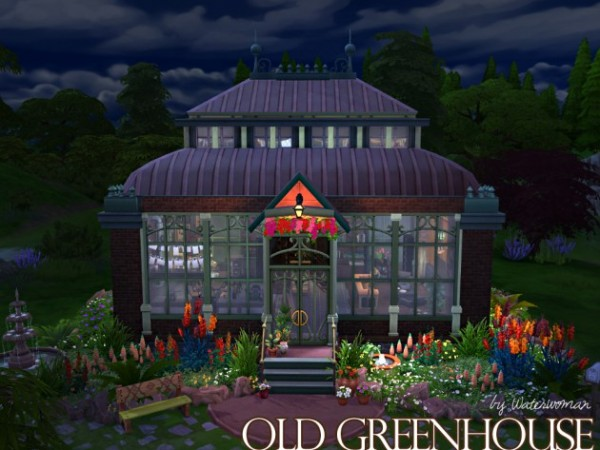 Akisima Sims Blog: Old Green house