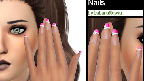 La Luna Rossa Sims: Special French Manicure