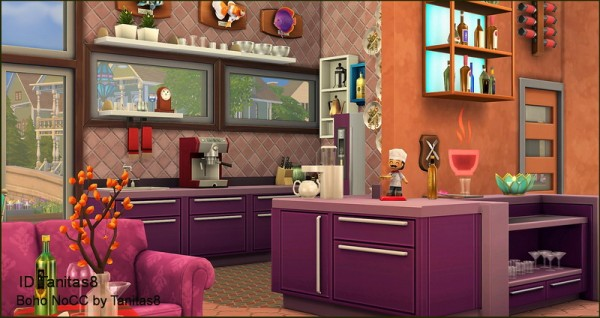 Tanitas Sims: Boho house