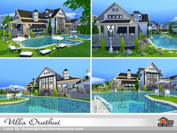 The Sims Resource: Villa Orathai bu Autaki