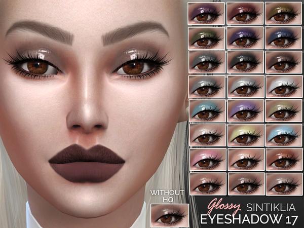 The Sims Resource: Sintiklia`s  Eyeshadow 17