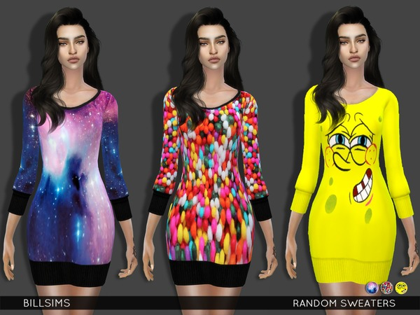 The Sims Resource: Random Sweaters by BillSims