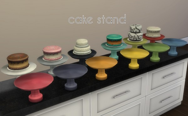 Mod The Sims: Sumptuous Kitchen Add Ons by Madhox