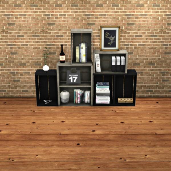 Leo 4 Sims: Shelves Sideboard