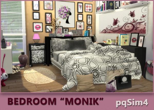 PQSims4: Bedroom Monik