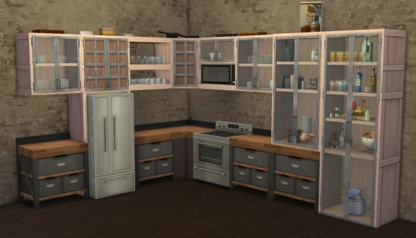 Mod The Sims: VAULT Cabinets Expansion by Madhox