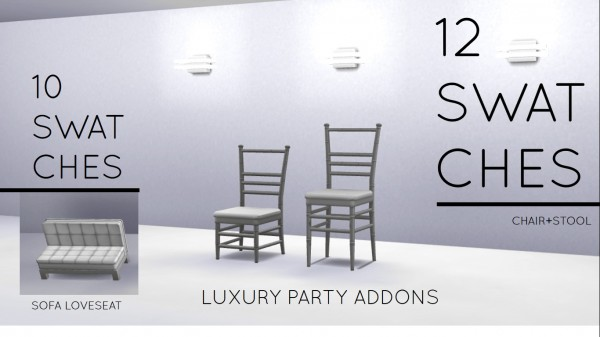 Mod The Sims: Luxury Party Addons by MrMonty96