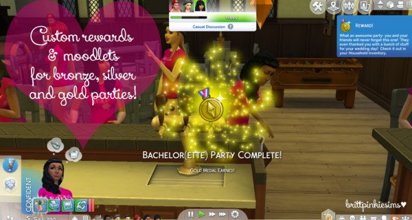 Brittpinkiesims: Bachelorette Party Mod!