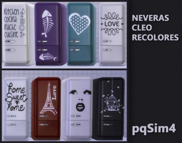 PQSims4: Fridge Cleo