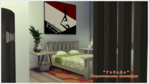 Sims 3 by Mulena: Flatlet 1