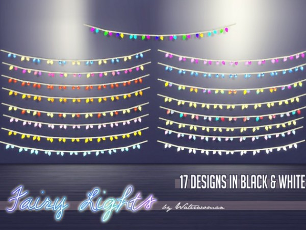 Akisima Sims Blog: Fairy Lights