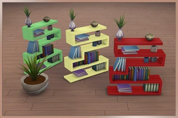 Blackys Sims 4 Zoo: Tao bookcase