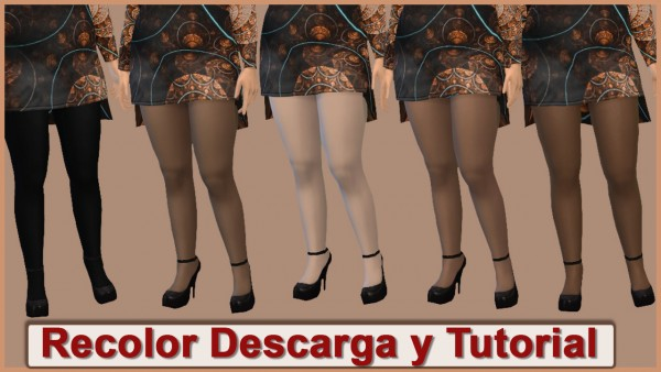 PQSims4: MaryPQSims dress, shoes and tutorial