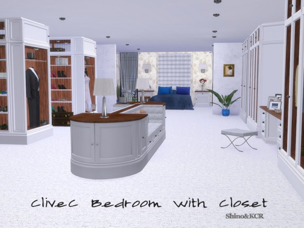 The Sims Resource: Bedroom Closet CliveC by ShinoKCR