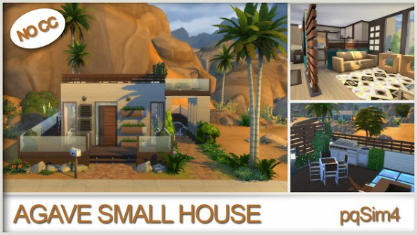 PQSims4: Agave small house