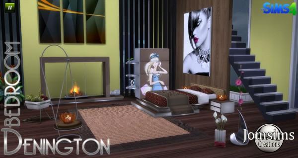 Jom Sims Creations: Denington bedroom