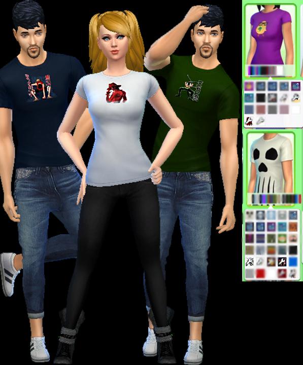 Auri Sims: November Shirt Pack!