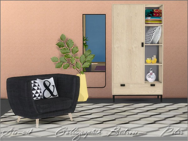 SimControl: Calligraphik bedroom by Pilar