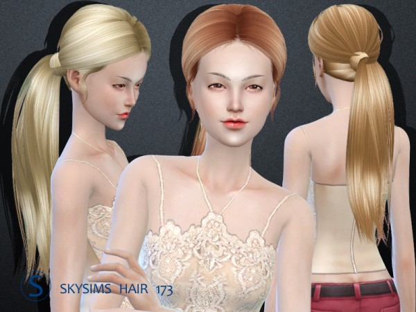 Butterflysims: Skysims donation hairstyle 173