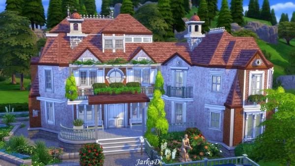 JarkaD Sims 4: Suburban house No.150