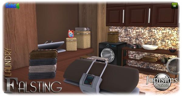 Jom Sims Creations: Falsting laundry