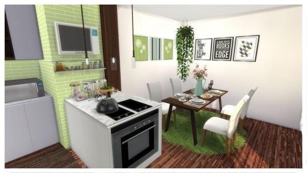 Dinha Gamer: Green Kitchen