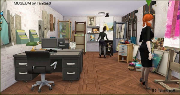 Tanitas Sims: Museum   no CC