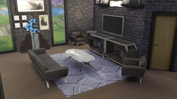 La Luna Rossa Sims: Imperial Design Carpet