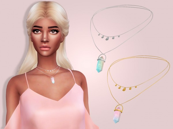Maria Maria: Necklace with Crystal