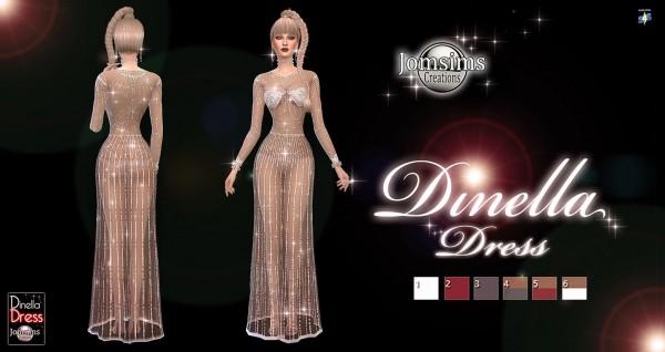 Jom Sims Creations: Dinella dress