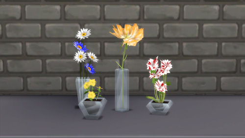 La Luna Rossa Sims Home Design Vases