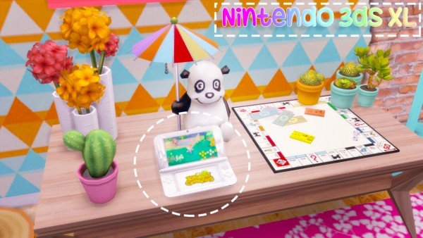 Sulsul Sims: Functional Nintendo 3ds XL!