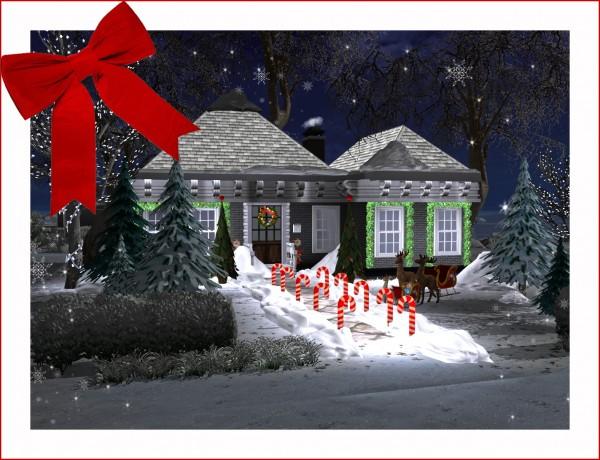 Sims 4 Designs: Christmas decor