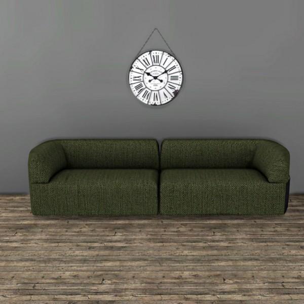Leo 4 Sims: Wall Clock