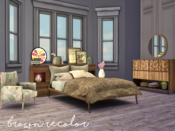 the sims resource my first apartment bedroom by nikadema sims 4