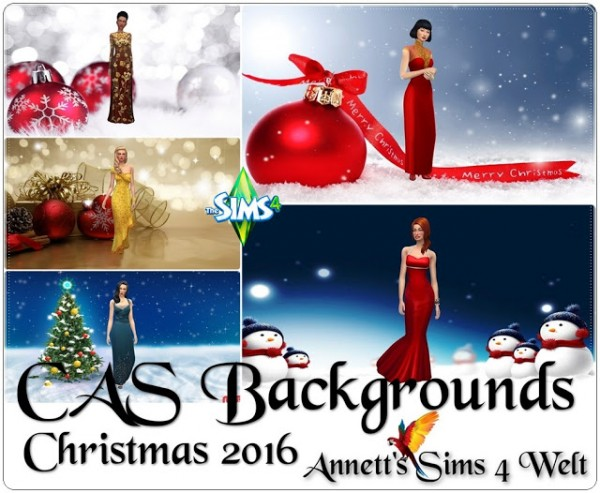 Annett`s Sims 4 Welt: CAS Backgrounds   Christmas 2016
