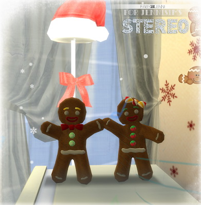 Jenni Sims: Stereo Gingerbread christmas by Faby