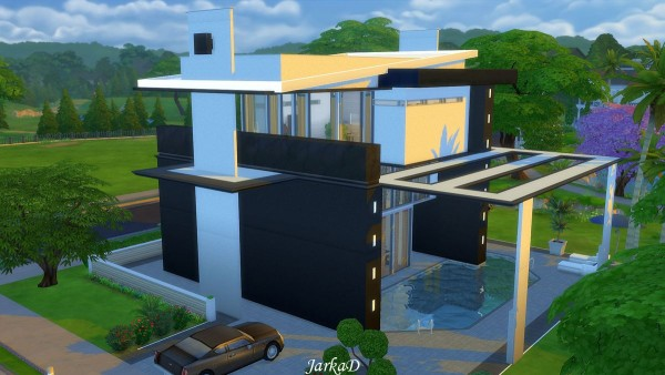 JarkaD Sims 4: Sandree house