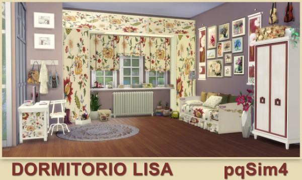 PQSims4: Bedroom Lisa
